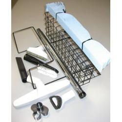 SET DELUX con tubo flessibile elettrificato mt.9