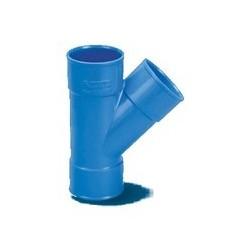 Derivazione 45' FFF diam.50 largo raggio blu
