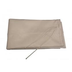 Calza filtrante secondaria in tessuto per lato espulsione
