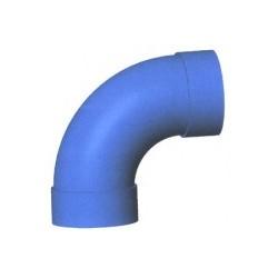 Curva a 90' FF diam.50 largo raggio blu